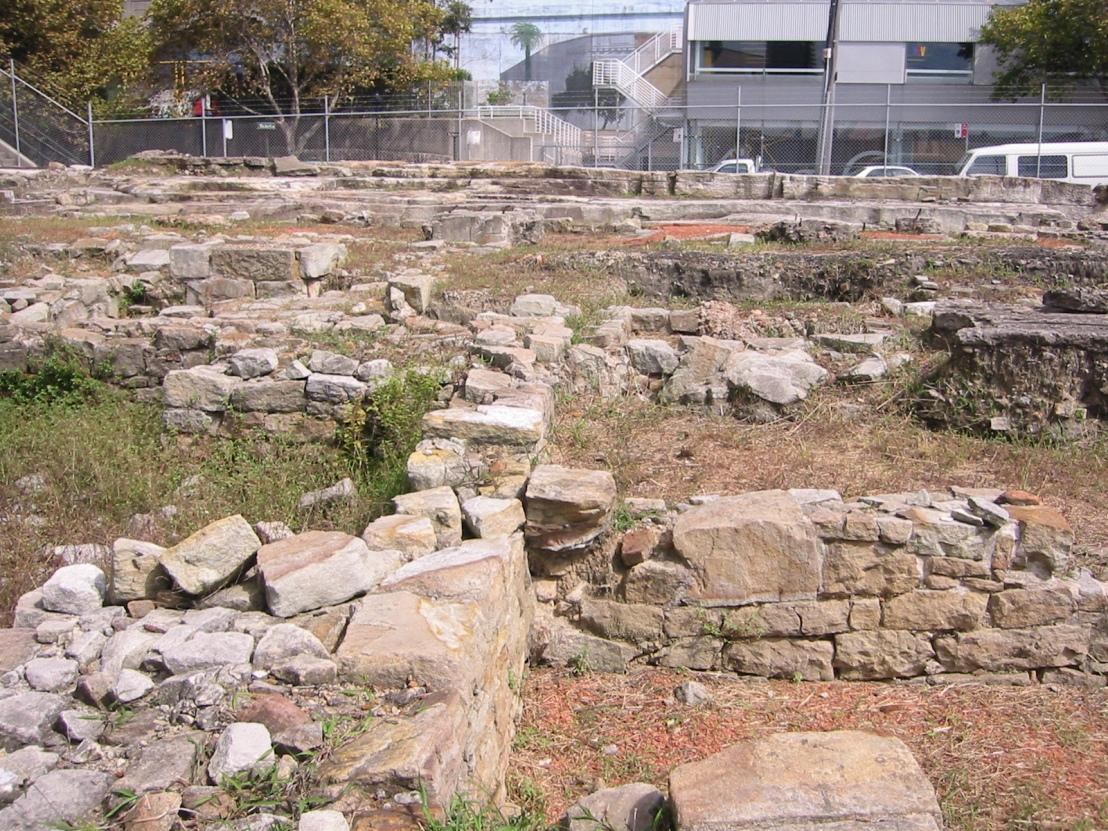 Sydney Rock archaeological dig