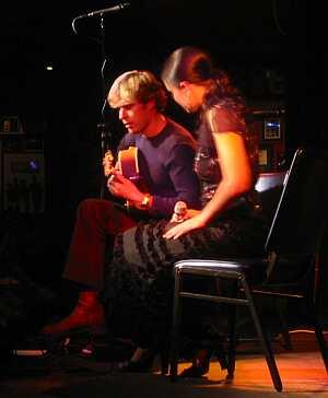 Stringmansassy play at The Basement in Sydney