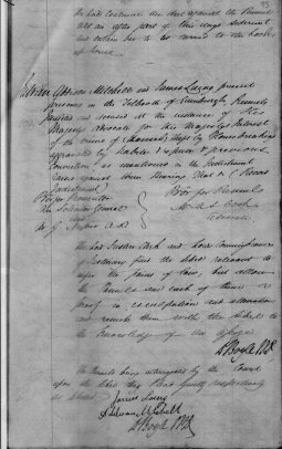 James Laing court records page 6