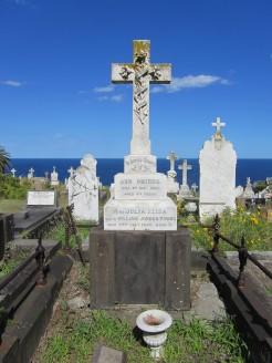 Ann Phibbs grave at Waverley Cemetery