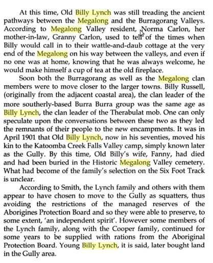 An extract from Lighting the Way by Dianne Johnson which mentions Billy Lynch ISBN: 9781862874275 Publisher: Federation Press