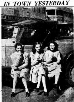 FRANCIS SMITH, EDNA DUNN, JOAN DUNN The Northern Star Thursday 29 August 1946, page 4