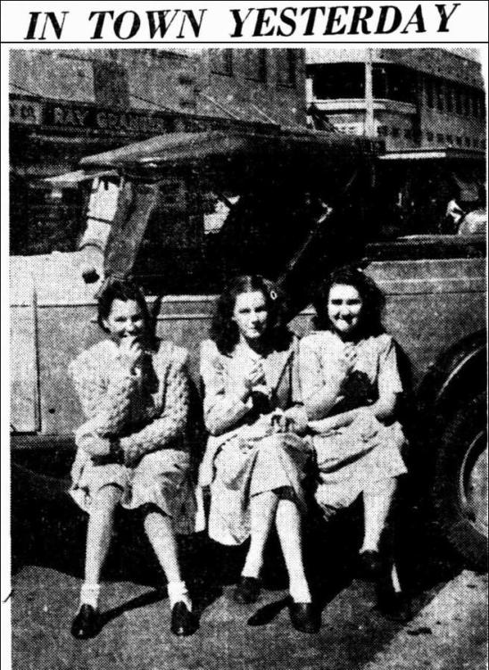 FRANCIS SMITH, EDNA DUNN, JOAN DUNN The Northern Star Thursday 29 August 1946, page 4
