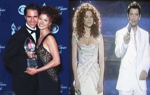 The hosts this year bore a remarkable resemblance to Will and Grace.