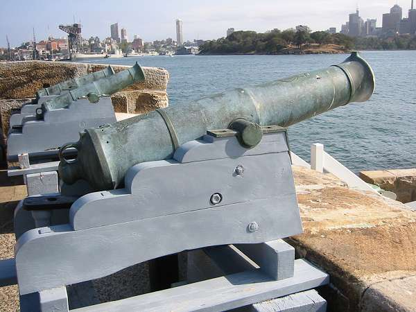 Fort Denison Canon