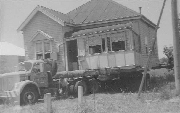 In 1970, to make way for a weigh-bridge in Kyogle Street, the house was relocated to 195 Casino Street, South Lismore.