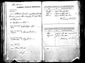John Noonan arrived on Portland Shipping Records No. 2