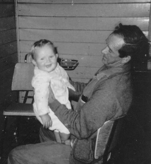 Me and my dad, probably some time in 1966.
