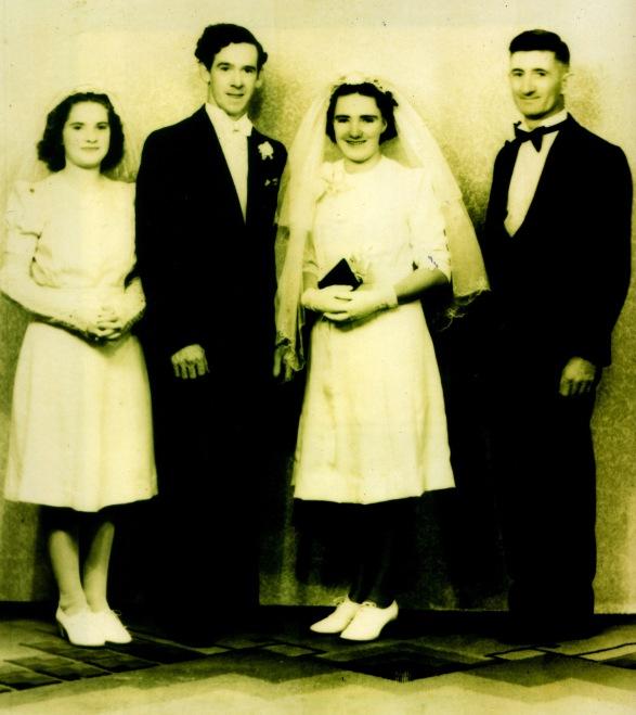 Albert Bernard O'Brien and Bertha Ann Dunn