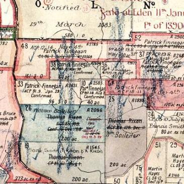 Thomas Rixon land at Bondi, Wyndham