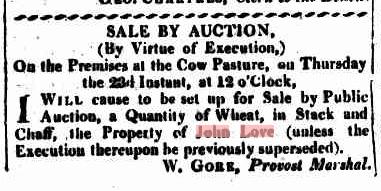 Sydney Gazette Saturday 11 March 1815