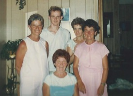 Lynette, James, Gloria, Margaret, Nancy