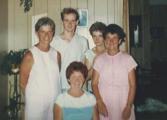 Lynette, James, Gloria, Margaret, Nancy