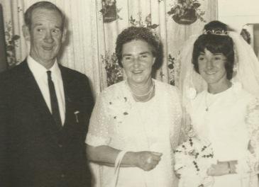 Albert O'Brien, Bertha Dunn, Nancy O'Brien 1973