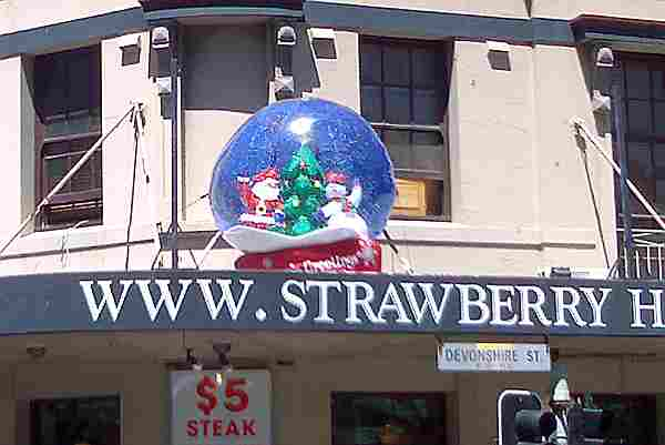 Strawberry Hills Santa