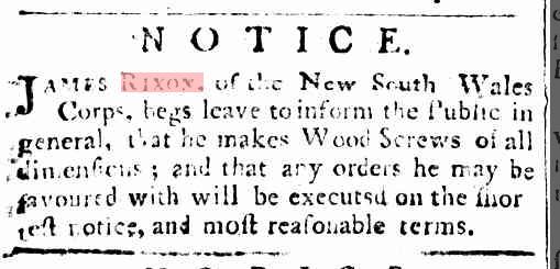 Sydney Gazette Sunday 22 September 1805