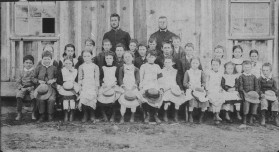 As this photograph from the State Library of NSW archive was taken in 1884 or 1885, it's likely Ellen is one of the students here. Ref: http://acms.sl.nsw.gov.au/item/itemLarge.aspx?itemID=390448