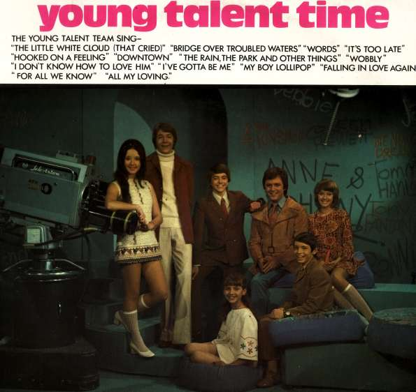 An early CD errr LP from the Australian television program, Young Talent Time.