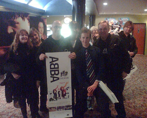 Launch in Sydney of ABBA - The Movie on DVD