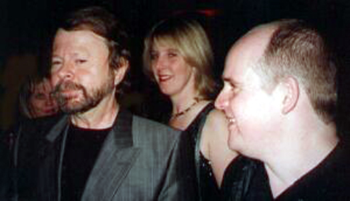 """This is Bjorn Ulvaeus from ABBA who I met briefly at the """"After Party"""" for the Melbourne premiere of the musical """"Mamma Mia""""."""