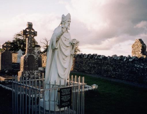 Statue of St Patrick - Hill of Slane, Ireland