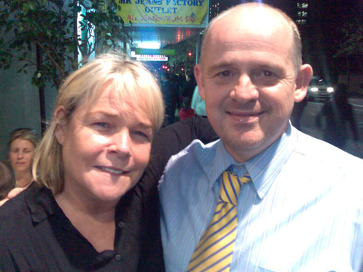 Linda Robson and Me