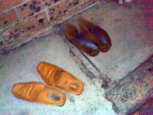 Discarded Shoes