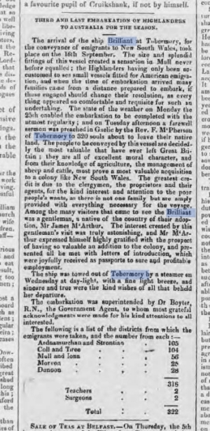 Caledonian Mercury - Saturday 14 October 1837