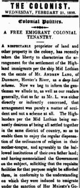 The Colonist (Sydney, NSW : 1835-1840), Wednesday 21 February 1838, page 2