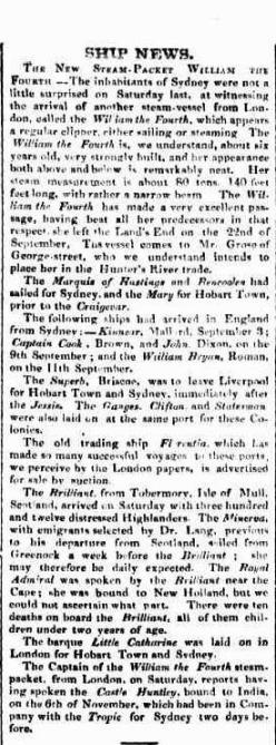 The Sydney Herald (NSW : 1831-1842), Monday 22 January 1838, page 2
