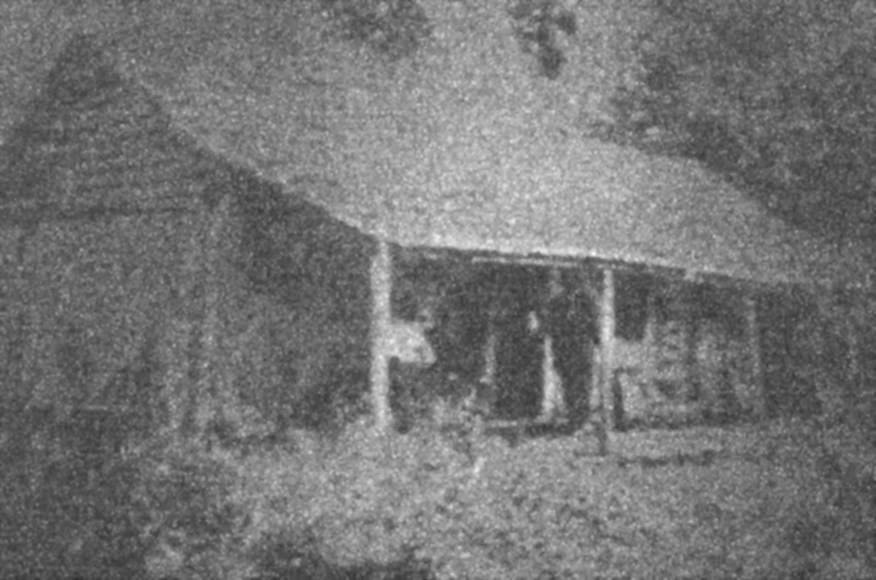 Unfortunately I do not recall the source for this image. If it is you please leave a comment and I will reference it. The photograph is apparently a photograph of the house in which Thomas Triggell lived in later life.