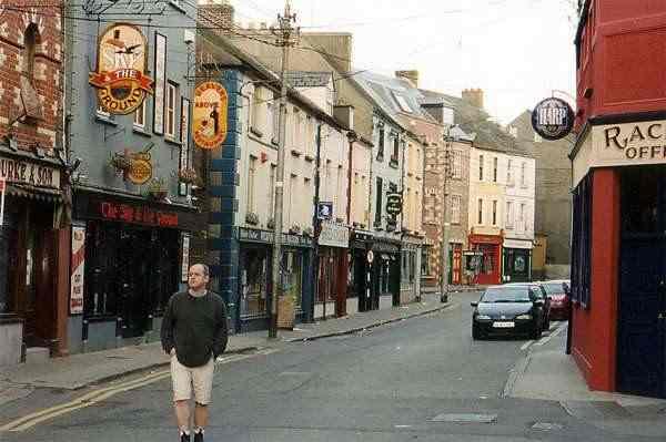 James O'Brien visits Wexford in September 1999