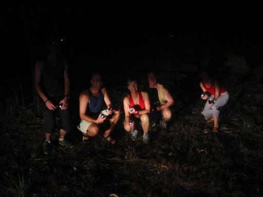 Bocce in Kakadu National Park by headlight