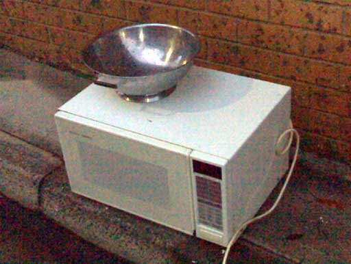 Discarded Microwave