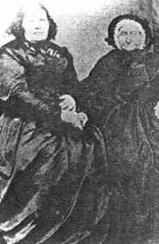 Ann Hoare and Elizabeth Love