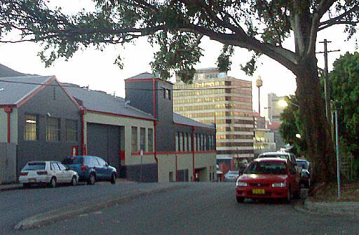 Near Belvoir Street Theatre, Surry Hills