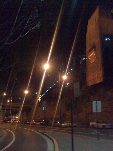 Sydney Harbour Bridge - Taken from Hickson Street, Sydney...