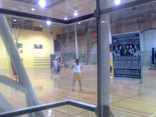 Basketball in Sydney - Cumberland Street, The Rocks