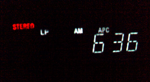 VCR Clock