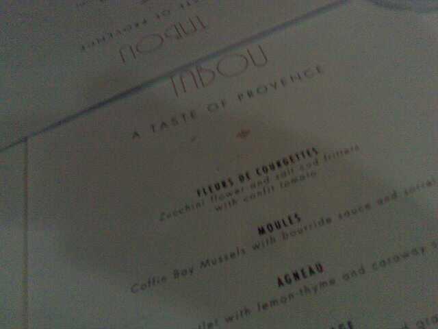 Surry Hills restaurant menu from 22.1.8