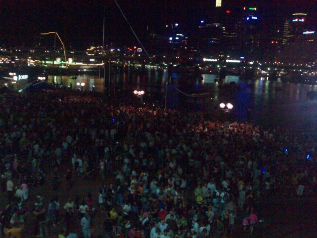 Australia Day at Darling Harbour