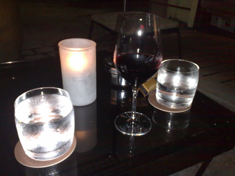 Drinks at La Sala