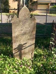 With thanks to Leanne Rae, here is a recent photograph (February 2008) of Amelia's headstone. According to Leanne... I am happy to offer, you after all share so much with many of us. I thought it would be nice for visitors to your site to see recent photographs of the Headstones and see they still stand well. I have already asked the photographer for her permission to offer you these photos and she is more than pleased for you to do so. If you would kindly acknowledge Robyn@australiansurnames that would be wonderful.The photos were taken for me in February this year as a request on australiansurnames groups on MSN, a wonderful and generous community of people. So thanks to Robyn, Leanne and Australian Surnames.