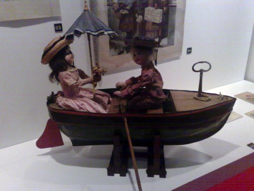 French Toy Boat