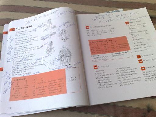 My text book, Svenska Utifran
