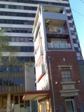 An electricity sub-station converted into an apartment block on Devonshire Street, Surry Hills