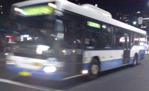 Sydney bus taken on Oxford Street, Darlinghurst