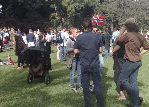 Norwegian Constitution Day in Hyde Park, Sydney