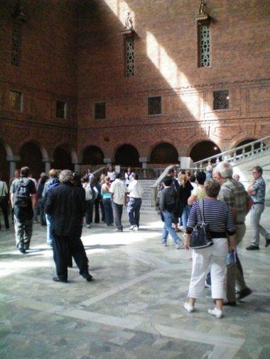 Inside Stockholm Town Hall