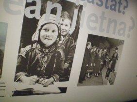 Sami people in the Nordiska Museet.
